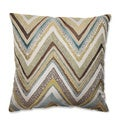 Zig Zag Capri Throw Pillow