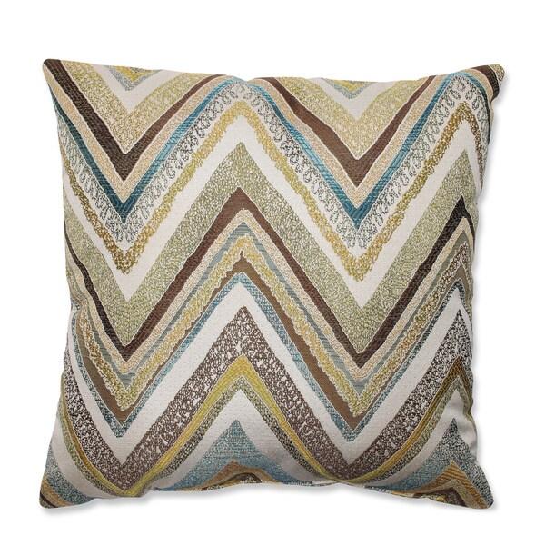 Zig Zag Capri Throw Pillow