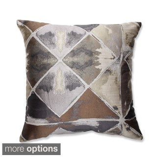 Love in Graphite Throw Pillow