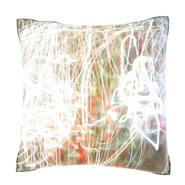 Bright Color Conception 18-inch Decorative Pillow