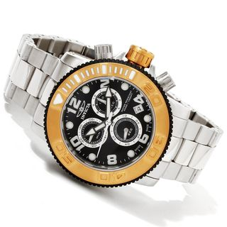 Invicta Men's BM-IN12532 Slightly Blemished 'Sea Hunter' Stainless Steel Watch