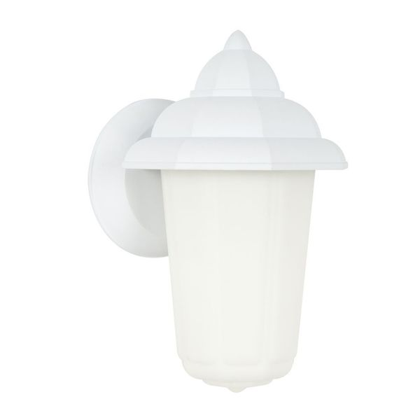 1-light White Electric Indoor Lantern