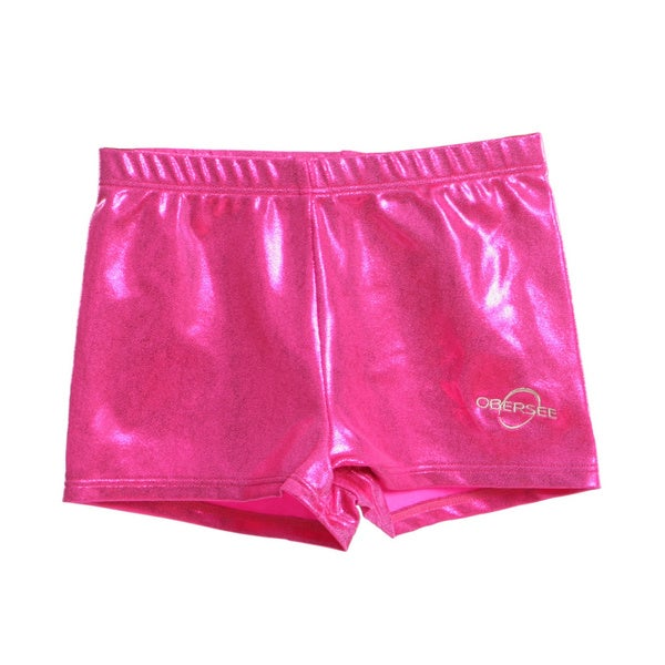 Obersee Kids Pink Gymnastics Shorts