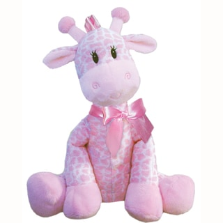 First & Main Plush Pink Giraffe