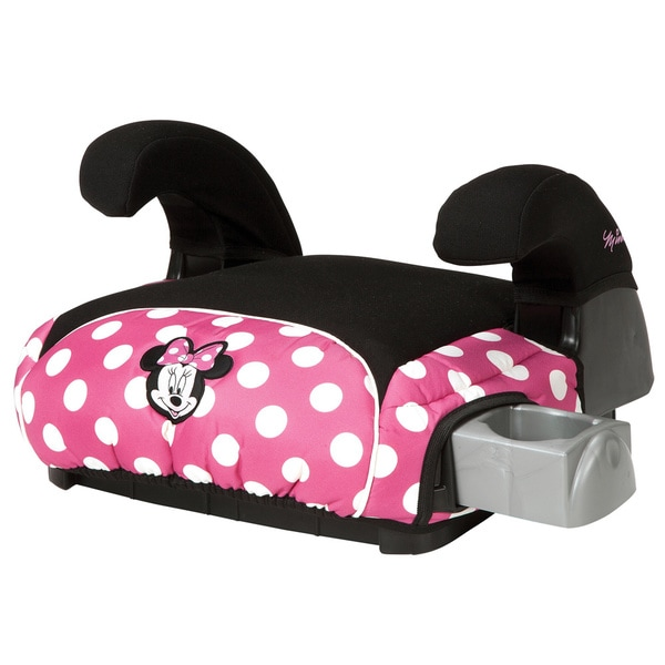 Disney Deluxe Booster Car Seat in Minnie Dot