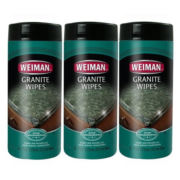 Weiman 30-count Granite Wipes (Pack of 3)