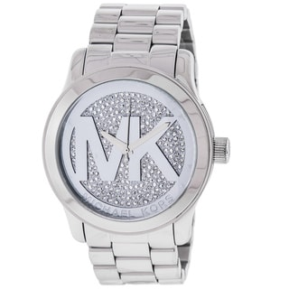 Michael Kors Women's MK5544 Runway Silver Dial Watch