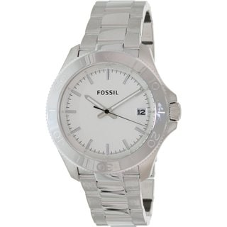 Fossil Men's Retro Traveler Stainless Steel Watch