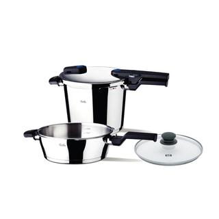 Vitaquick 2-piece Quattro Pressure Cooker Set