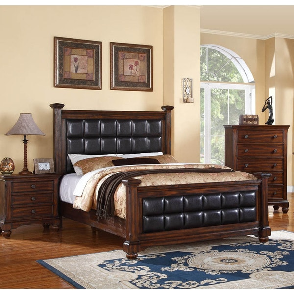 log cabin 3 piece bed set overstock shopping big discounts on
