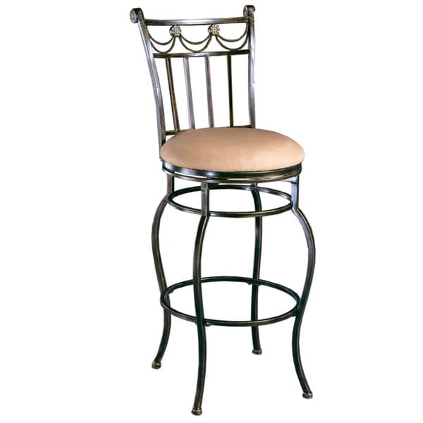 Camelot Black Gold Stool