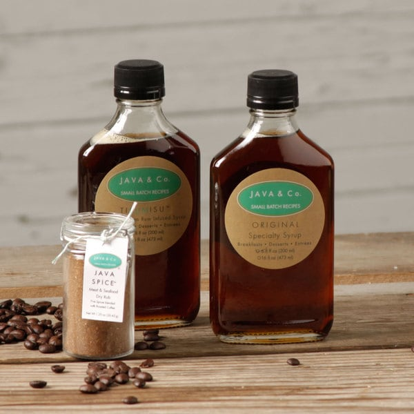 JAVA & Co. Flavored Syrup Set