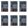 Avery Marks-A-Lot Retractable 4-color White Board Marker Set (Pack of 6)