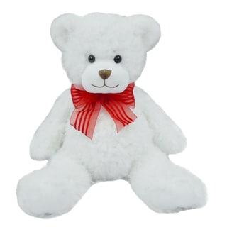 First & Main Valentine's Plush White Bear