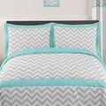 Sweet Jojo Designs Chevron Zigzag 3-piece Comforter Set