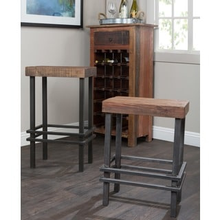 Rover Reclaimed Pine/ Iron Bar Stool