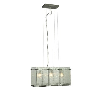 Varaluz Rain 3-light Rainy Night Linear Pendant