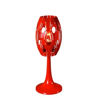 Varaluz Masquerade 1-light Radioactive Tangerine Table Lamp
