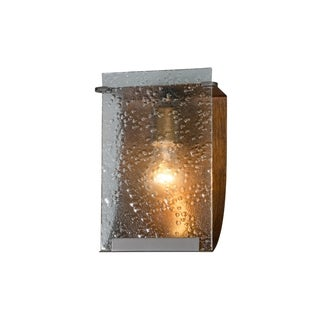 Varaluz Rain 1-light Hammered Ore Vanity Fixture