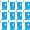 GE 41026 Set of 4 60-Watt 865-Lumen A19 General Purpose Bulb (12 Pack)