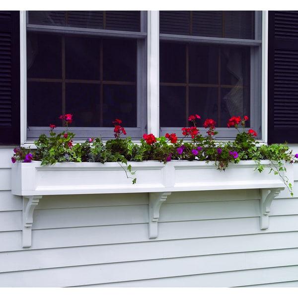 Lazy hill farm designs federal window box 15997914 for Box window design