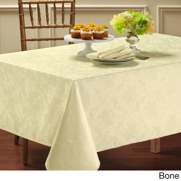 Chatterly Microfiber Damask Tablecloth 15997915