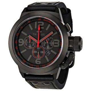 TW Steel Men's Canteen Quartz Black/Red Watch