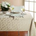 Lenox Lenora Champagne Leaf Damask Tablecloth