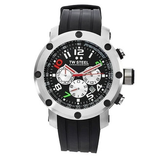 TW Steel Men's 'GrandeurTech' Black Dial Watch
