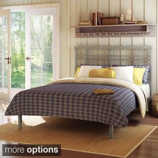 Amisco Heritage Full-size Titanium Platform Bed