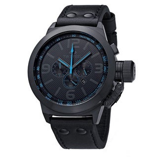 TW Steel Men's Cool Black and Blue Watch