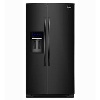 Whirlpool Gold 29.7-cubic Foot Black Side by Side Refrigerator