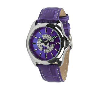 "Android Women's ""Flower"" Purple Watch"