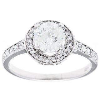 18k White Gold 1 1/3ct TDW Estate Engagement Ring (H-I, I2-I3)