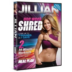 Jillian Michaels One Week Shred (DVD)
