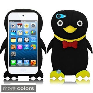 INSTEN Soft Silicone Duck iPod Case Cover for Apple iPod Touch 5