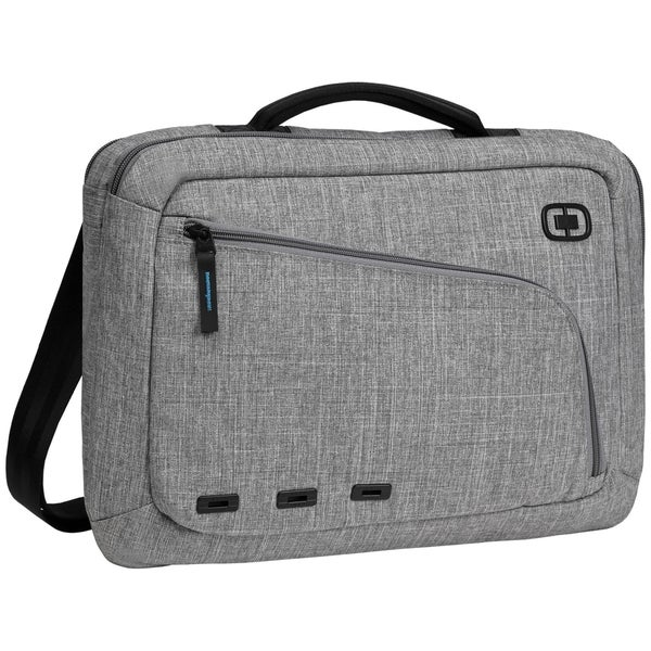 OGIO Dark Static Newt Slim 15-inch Laptop Messenger Bag