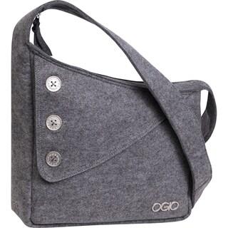 OGIO Light Grey Brooklyn Tablet Shoulder Tote Bag