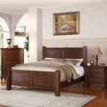 Woodrow Honey Oak Pine 3-piece Bed Set