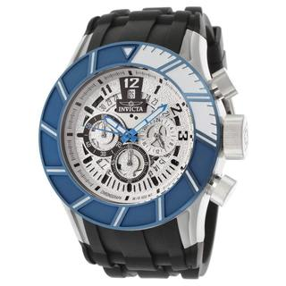 Invicta Men's 14025 Pro Diver Black/ Blue Polyurethane Watch