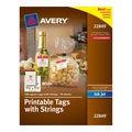 Avery Printable 1.5x1.5-inch White Tags with Strings (200 pack)