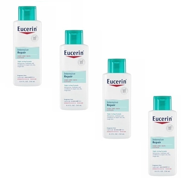 Eucerin Intensive Repair Very Dry 8.4-ounce Skin Lotion (Pack of 4)