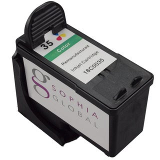 Sophia Global Lexmark 35 Ink Cartridge Replacement (1 Color) (Remanufactured)