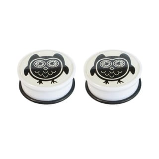Supreme Jewelry Bug Eyed Owl Plug (Pair)