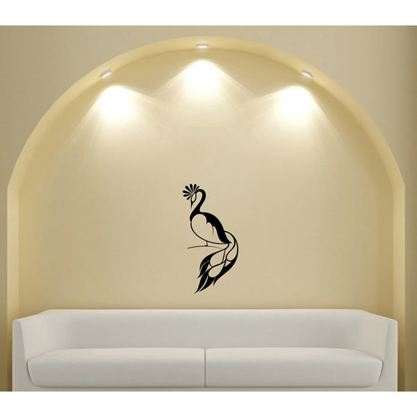 Peacock Bird Animal Animal Wall Vinyl Decal