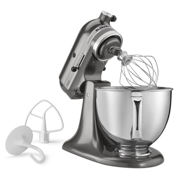 Kitchenaid Rrk150qg Liquid Graphite 5 Quart Artisan Tilt