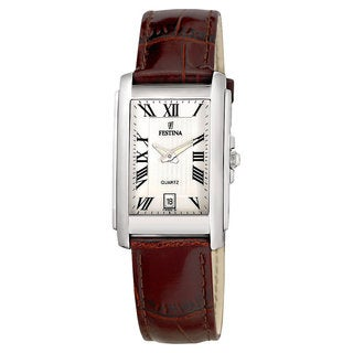 Festina Women's Stainless Steel Brown Strap Watch