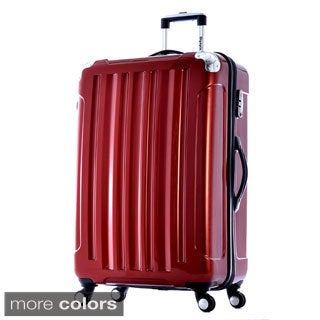 Olympia Stanton 29-inch Large Hardside Spinner Upright Suitcase