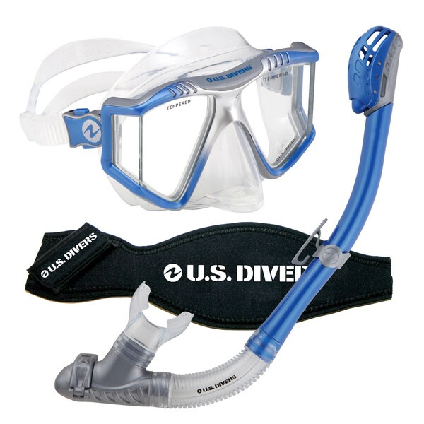 Lux Blue 3-piece Snorkel System