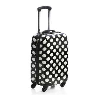 Heys USA 4-Wheel Motion Polka Dot 20-inch Carry-on Spinner Upright